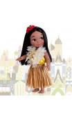 Кукла Гавайи «Маленький мир» (поющая). В наличии!